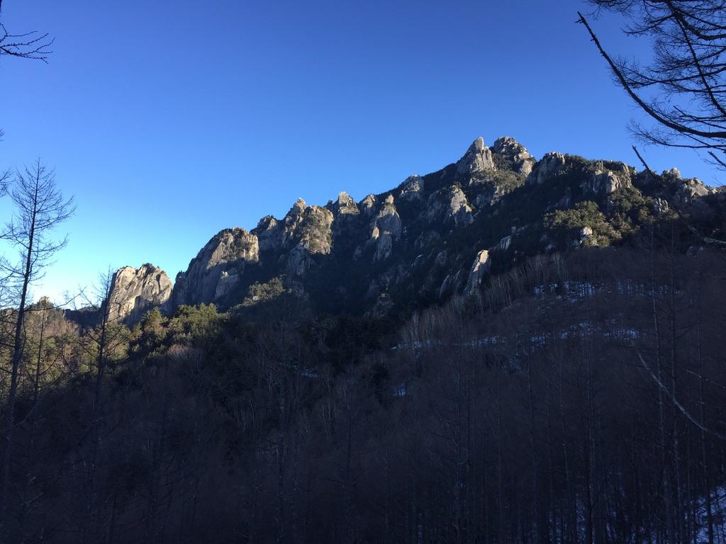 金峰山・瑞牆山