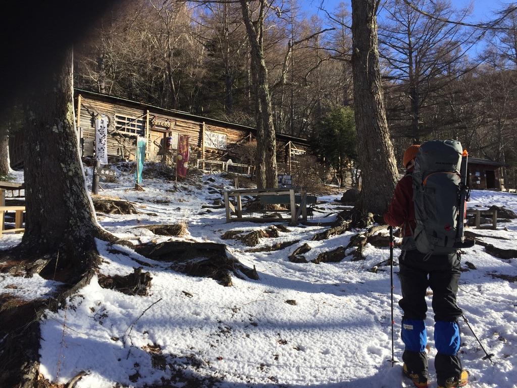 金峰山・富士見平小屋
