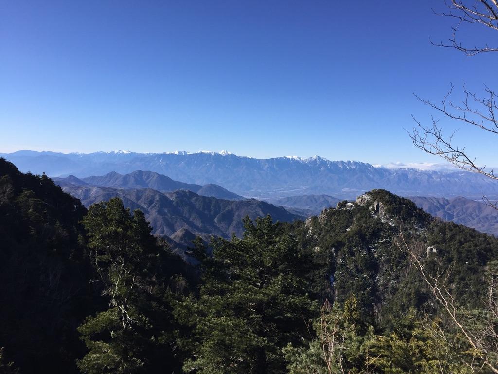金峰山・砂払ノ頭から見える絶景