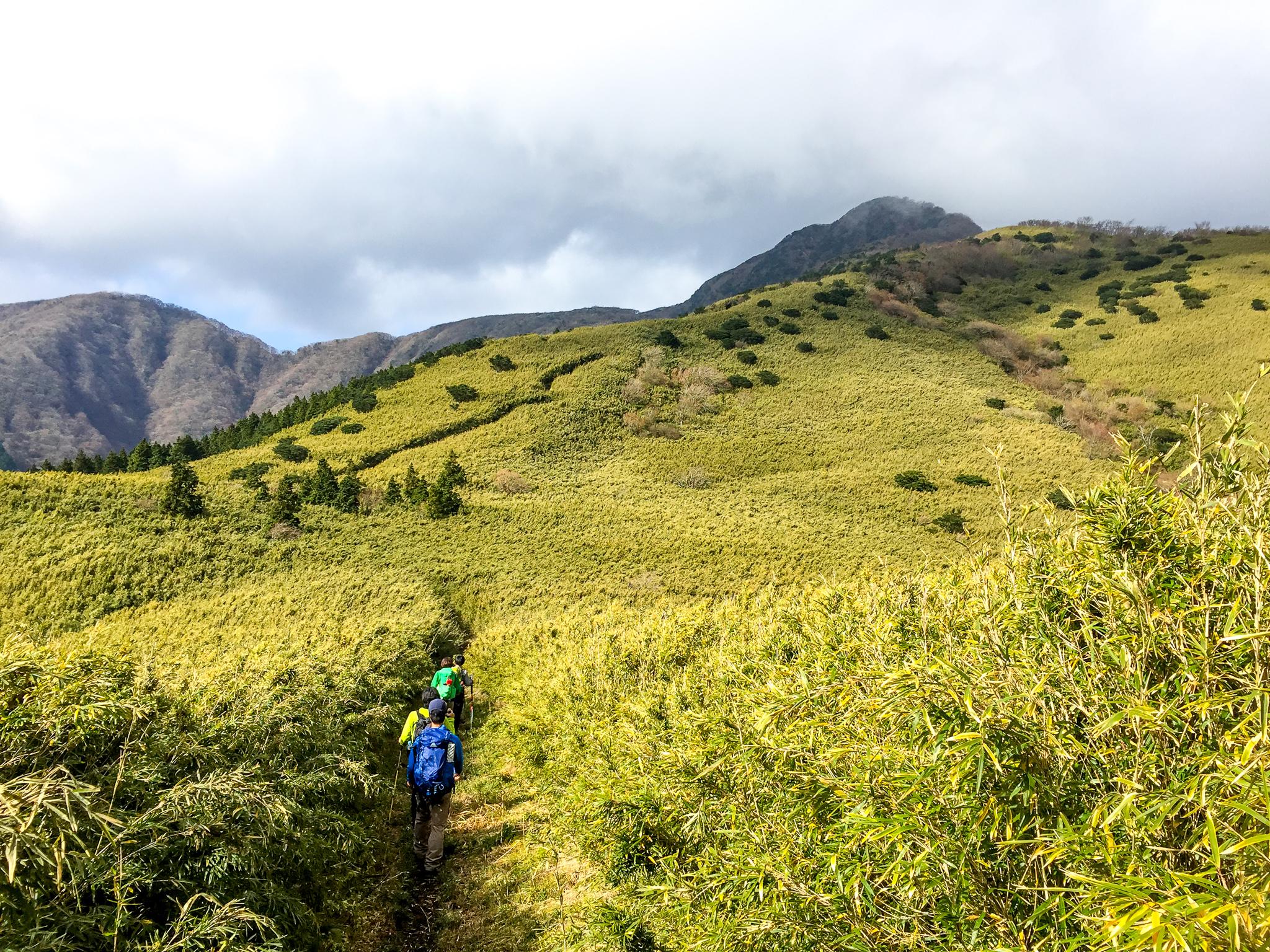 金時山・明神ヶ岳から金時山へ・どんどん進んでいきましょう