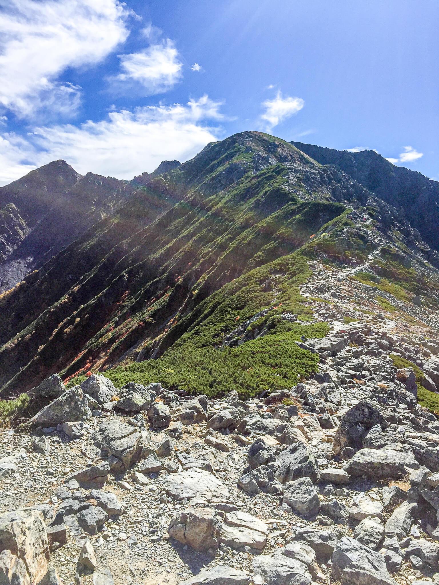 北岳・北岳山荘から間ノ岳へ