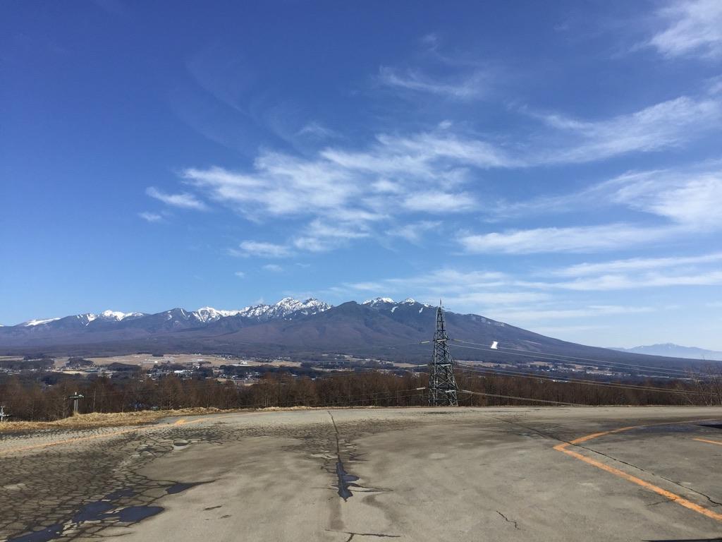 入笠山・今シーズンの最終目標!八ヶ岳!赤岳!