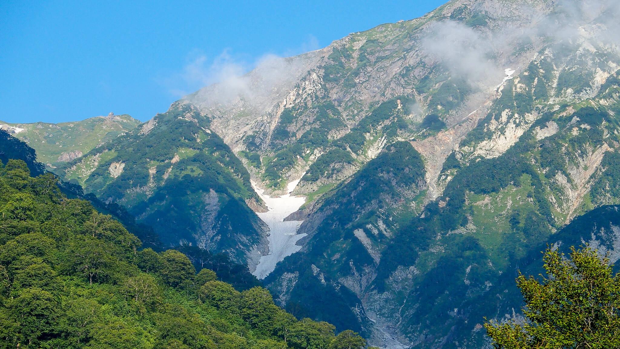 白馬岳・大雪渓はこちらかな?