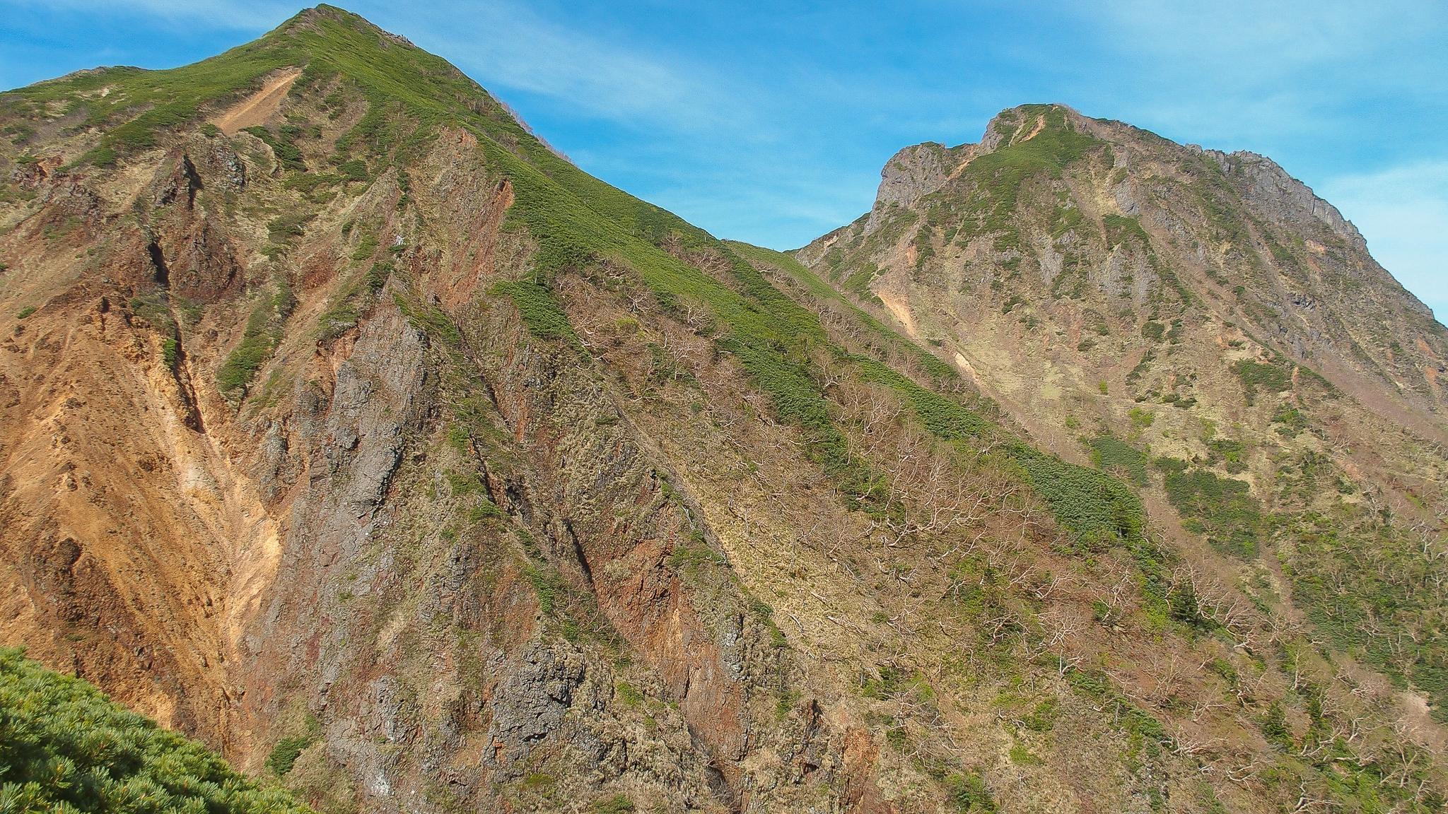 八ヶ岳(赤岳・横岳・硫黄岳)・文三郎尾根からの中岳、阿弥陀岳