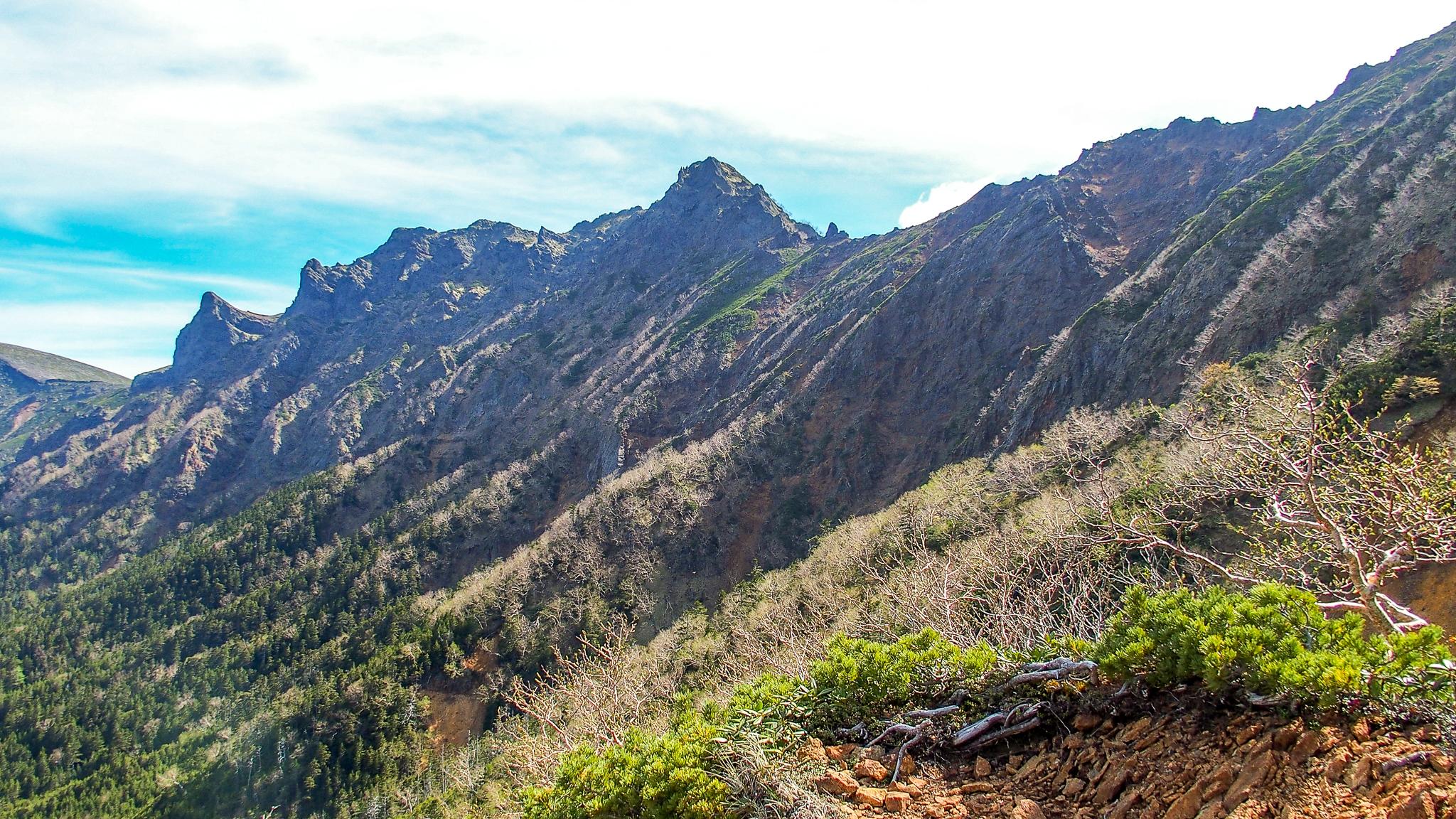 八ヶ岳(赤岳・横岳・硫黄岳)・文三郎尾根からの横岳
