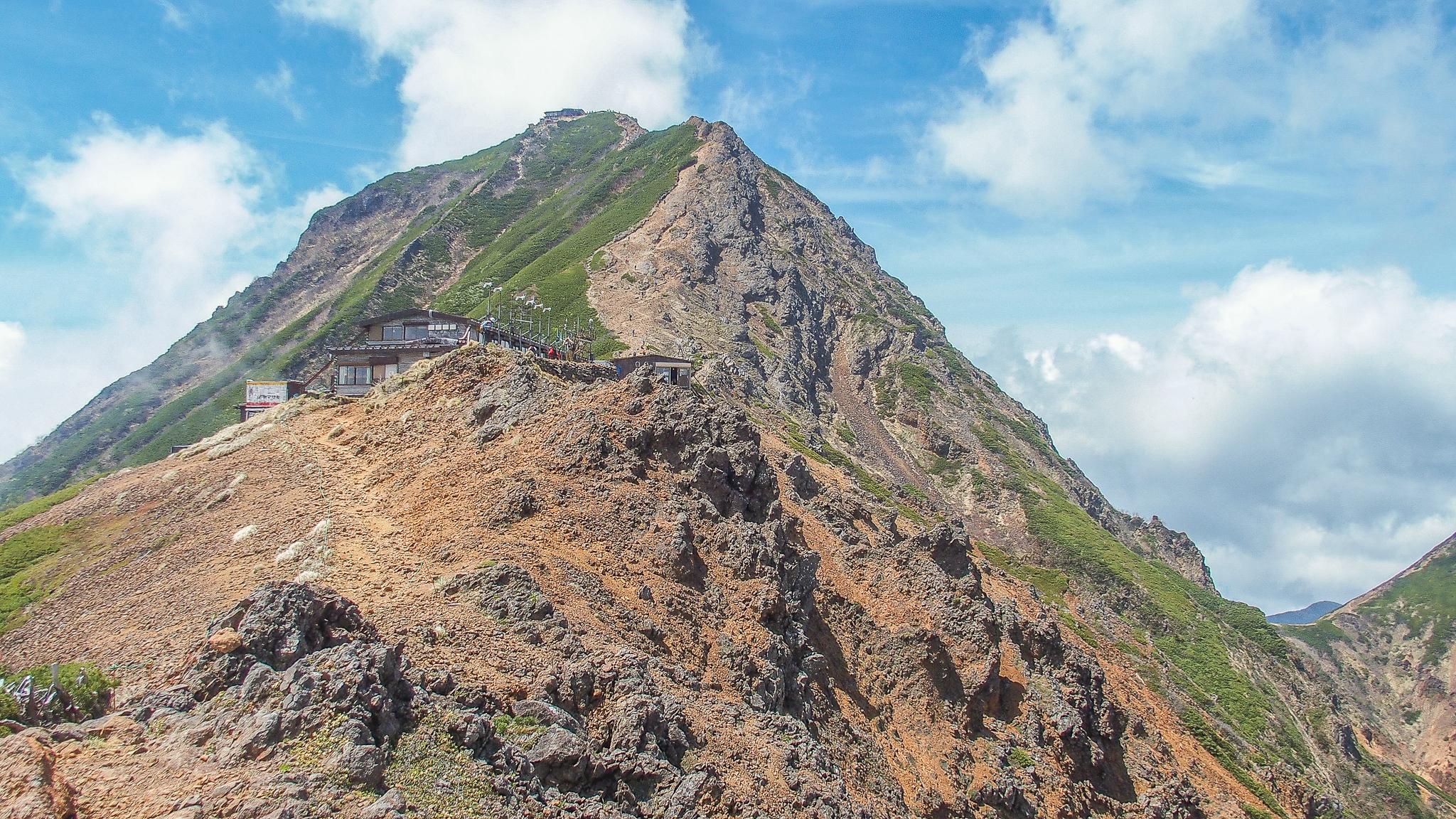 八ヶ岳(赤岳・横岳・硫黄岳)・赤岳展望荘と赤岳