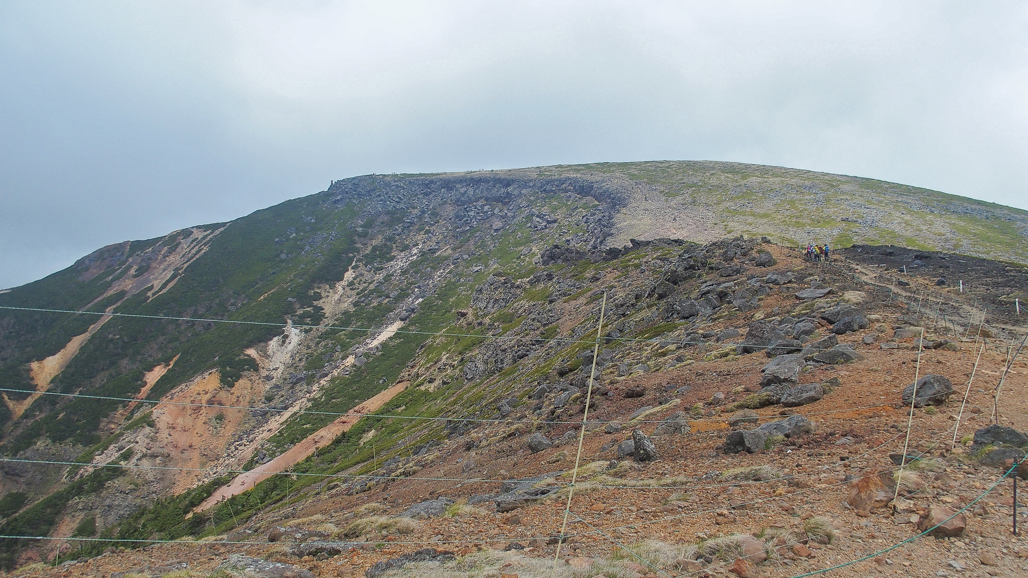 八ヶ岳(赤岳・横岳・硫黄岳)・硫黄岳