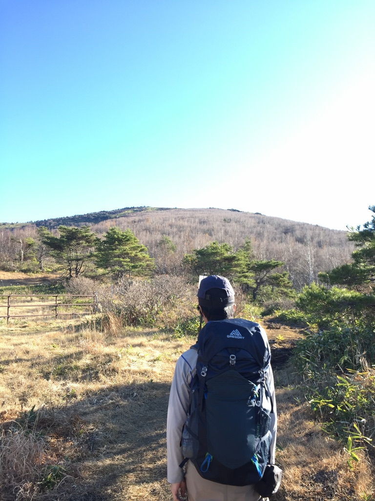 四阿山・根子岳に至る道