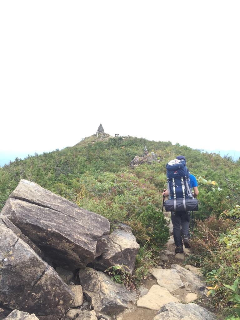 五竜岳・地蔵ノ頭に登ります