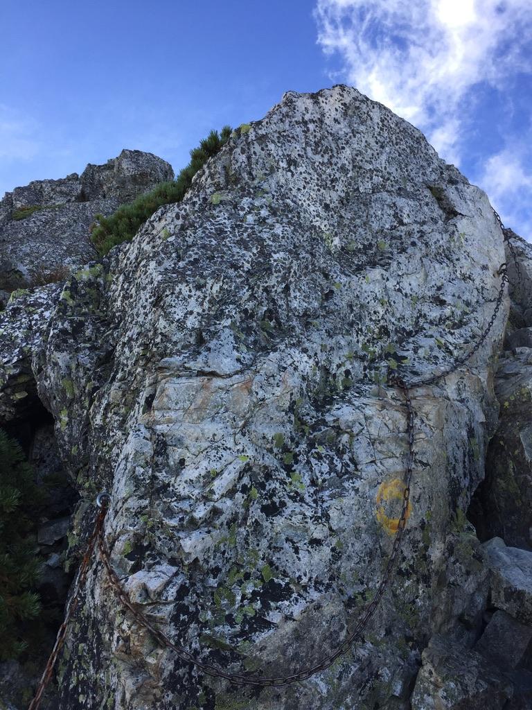 五竜岳にいざ行かん6・岩登り