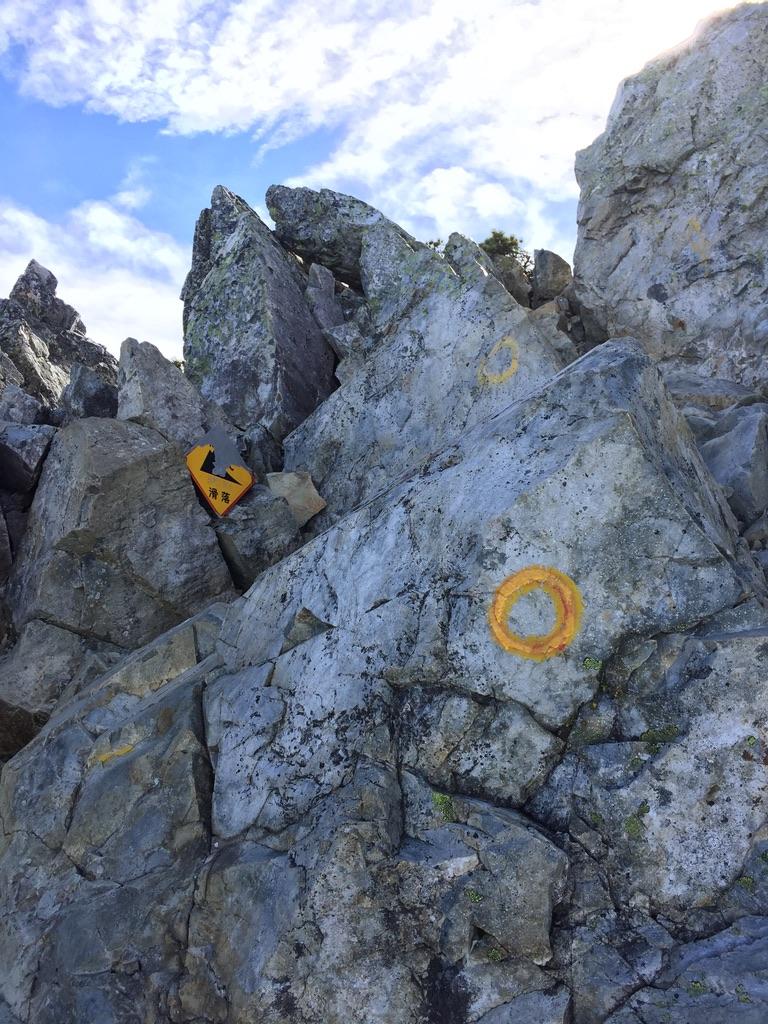 五竜岳にいざ行かん8・岩登り