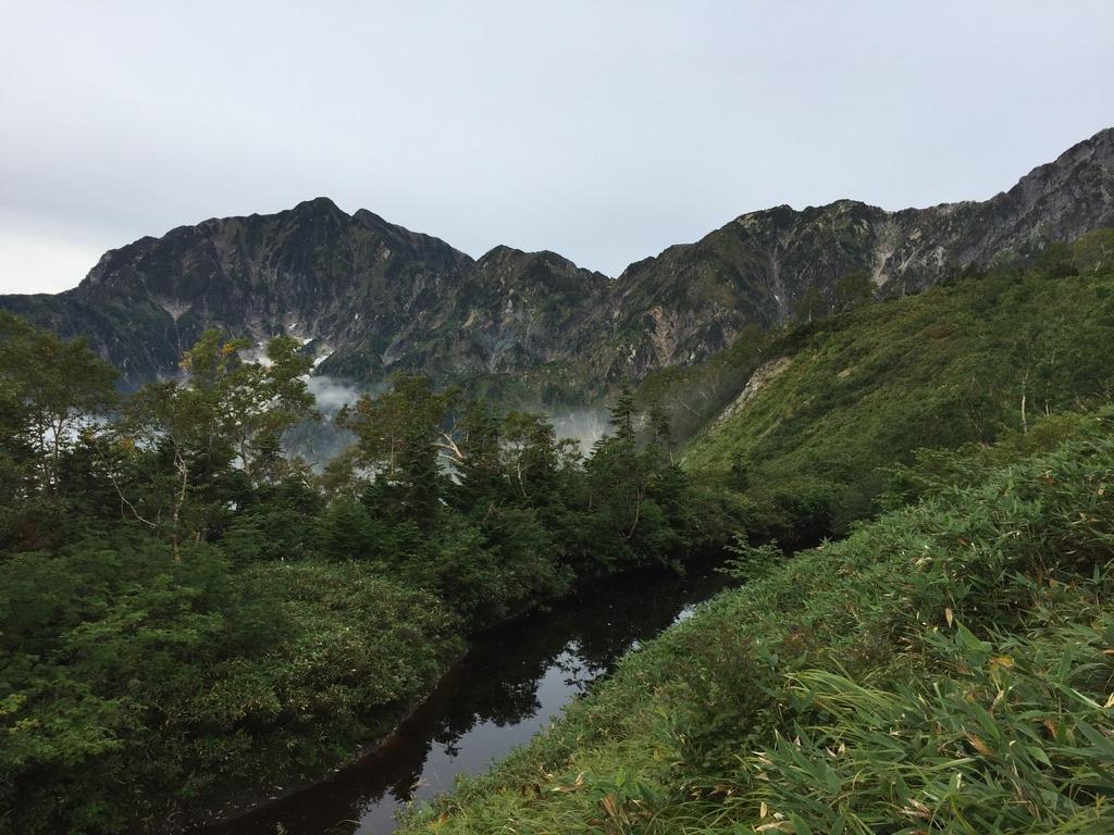 五竜岳・遠見尾根からの鹿島槍ヶ岳3