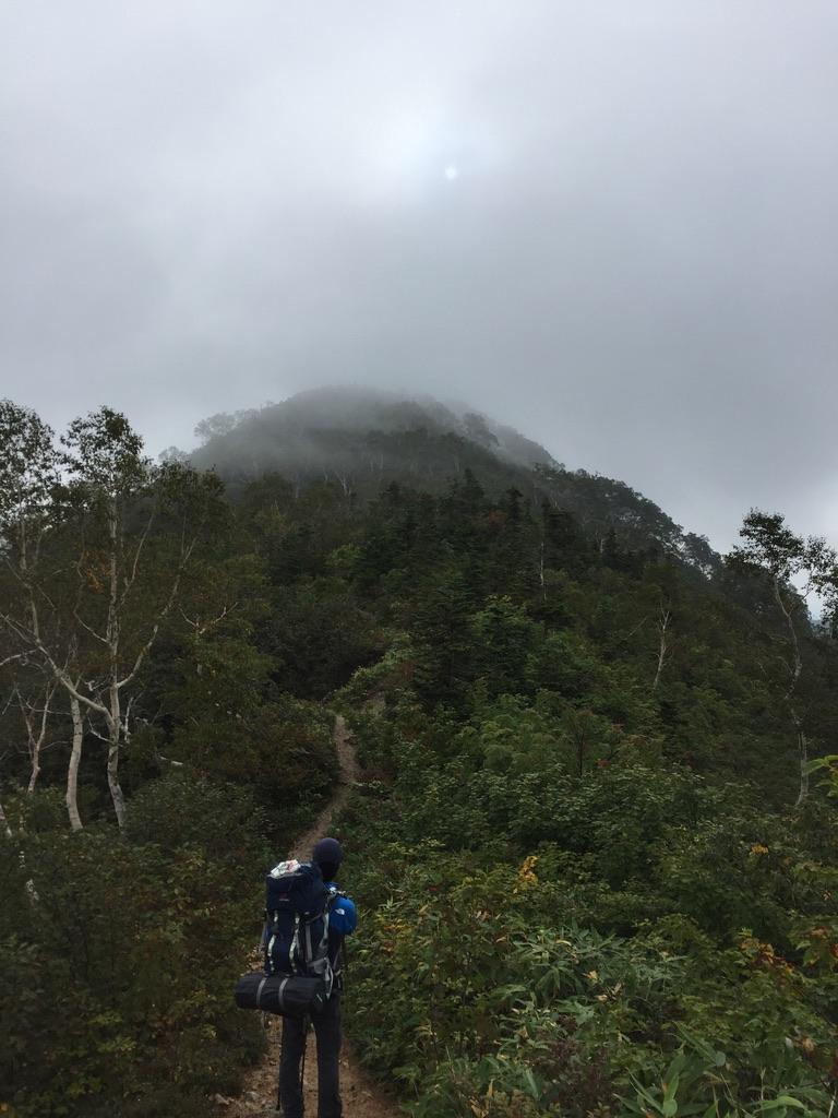 五竜岳・何遠見山?