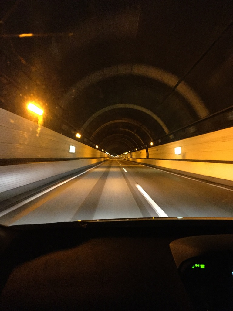 平ヶ岳・奥只見シルバーラインのトンネル
