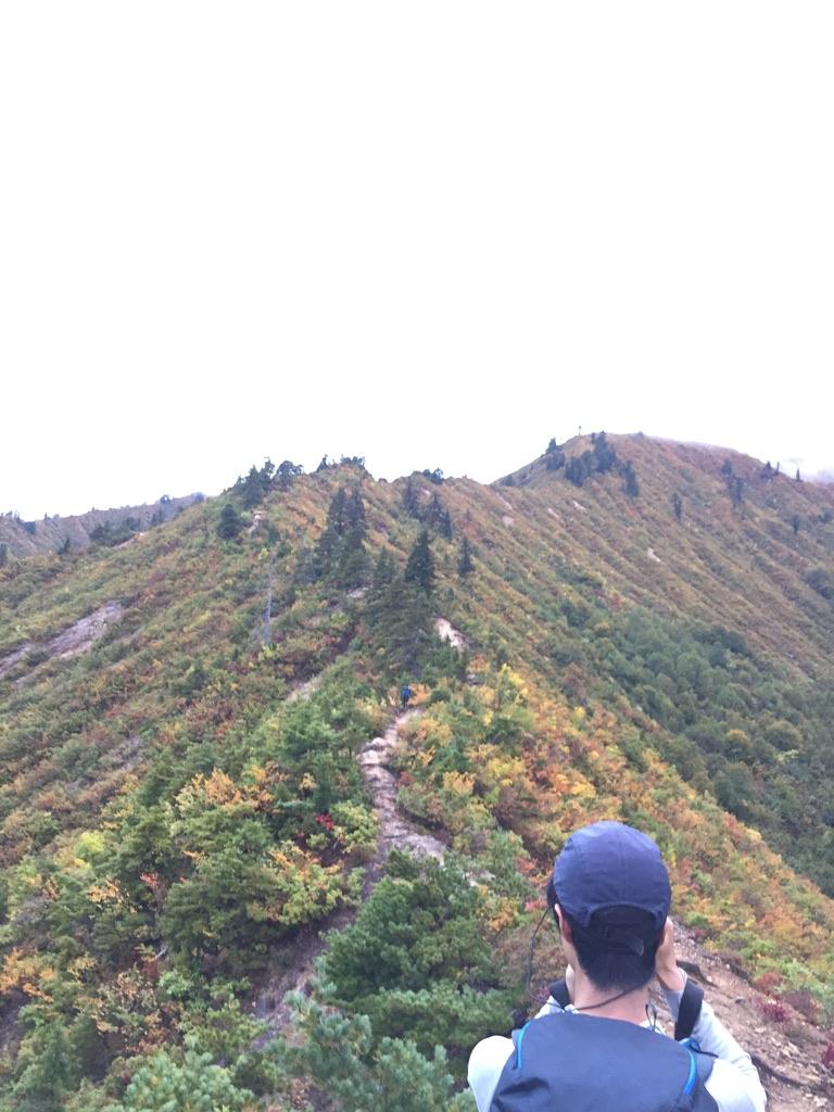 平ヶ岳・前坂