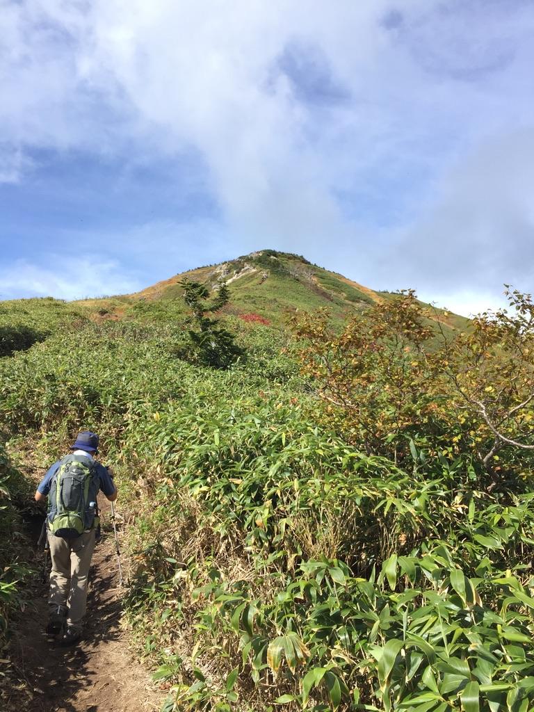 平ヶ岳・池ノ岳へ向かう道2