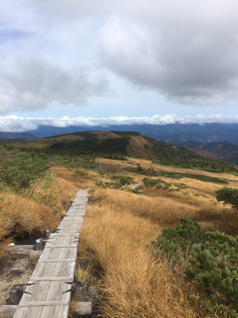 平ヶ岳・平ヶ岳の木道