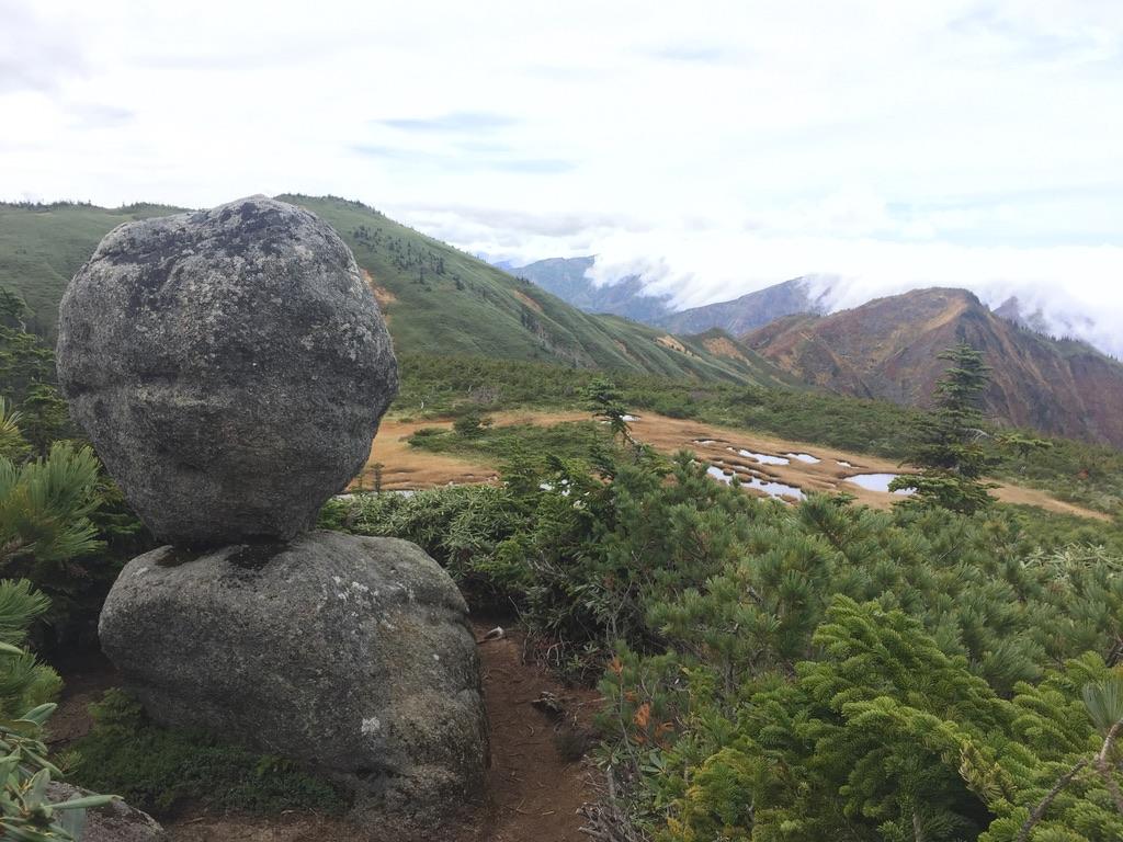 平ヶ岳・玉子岩