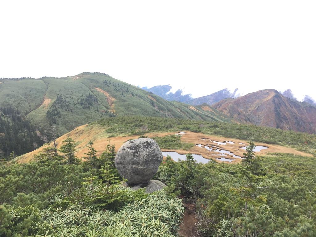 平ヶ岳・玉子岩2