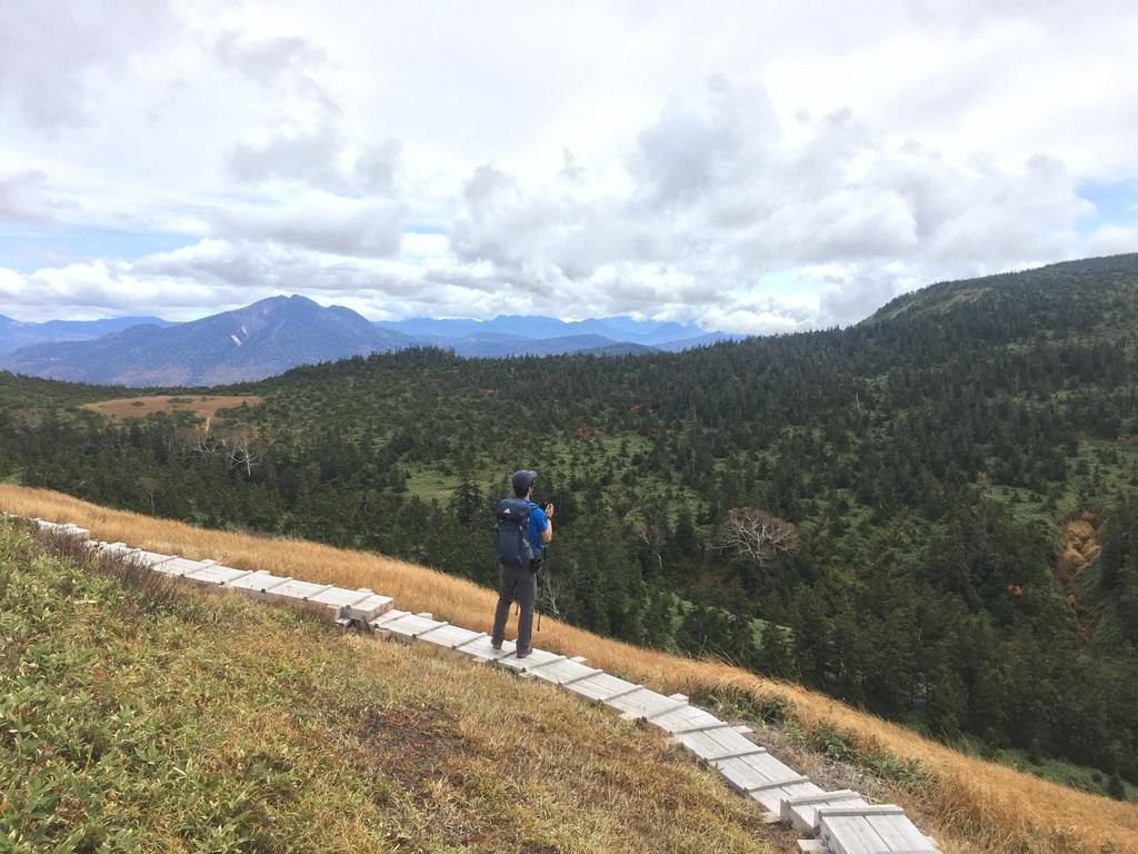 平ヶ岳・平ヶ岳の木道3