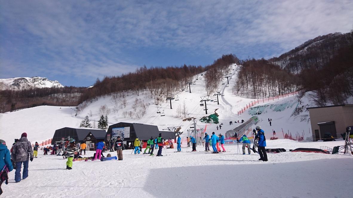 武尊山・川場スキー場・ゲレンデ