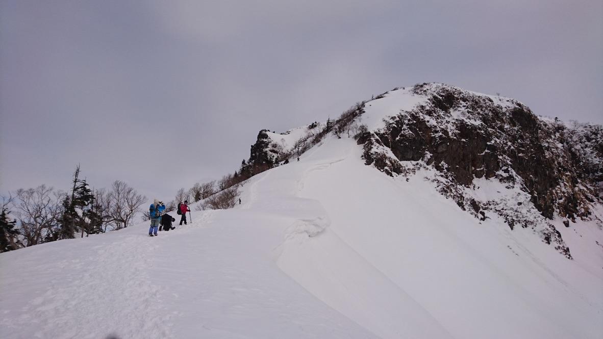 武尊山・川場スキー場から剣ヶ峰山に至る道2