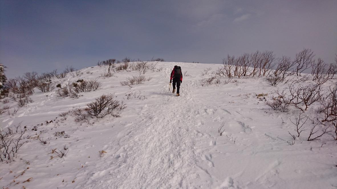 武尊山・川場スキー場から剣ヶ峰山に至る道4