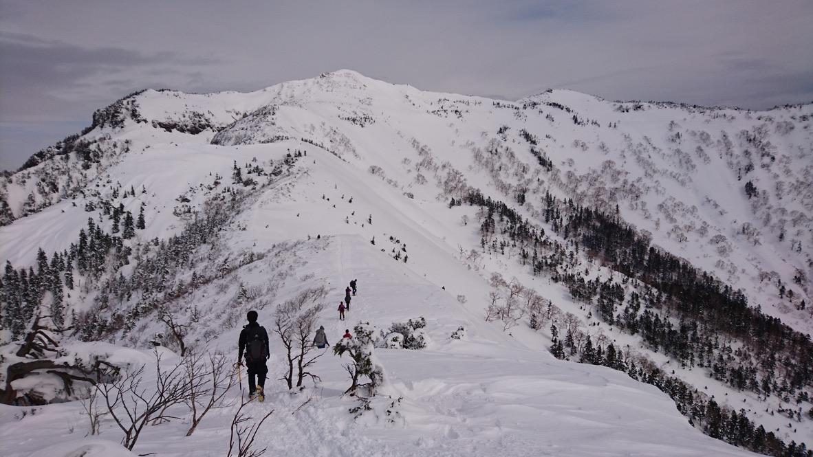武尊山・剣ヶ峰山から武尊山に至る道3