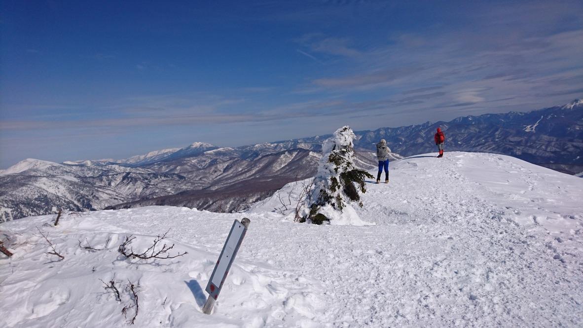 武尊山・武尊山山頂からの眺め
