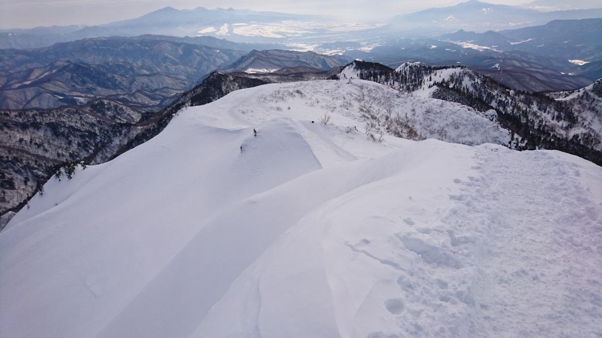 武尊山・川場スキー場に戻ります