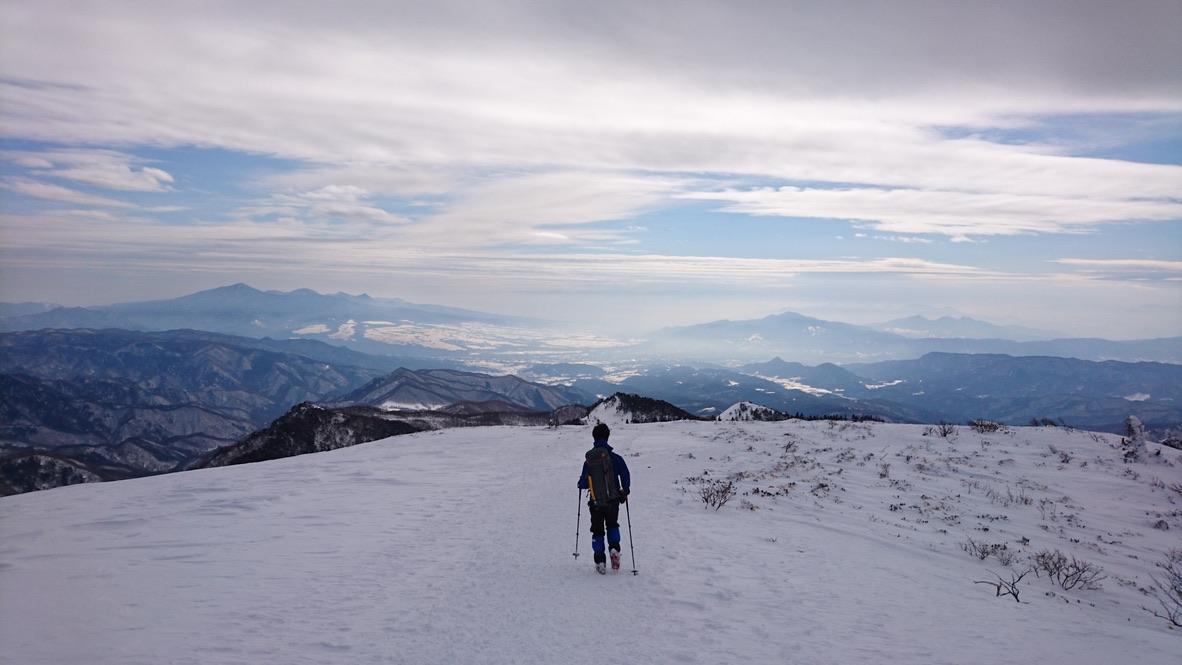 武尊山・川場スキー場に戻ります2