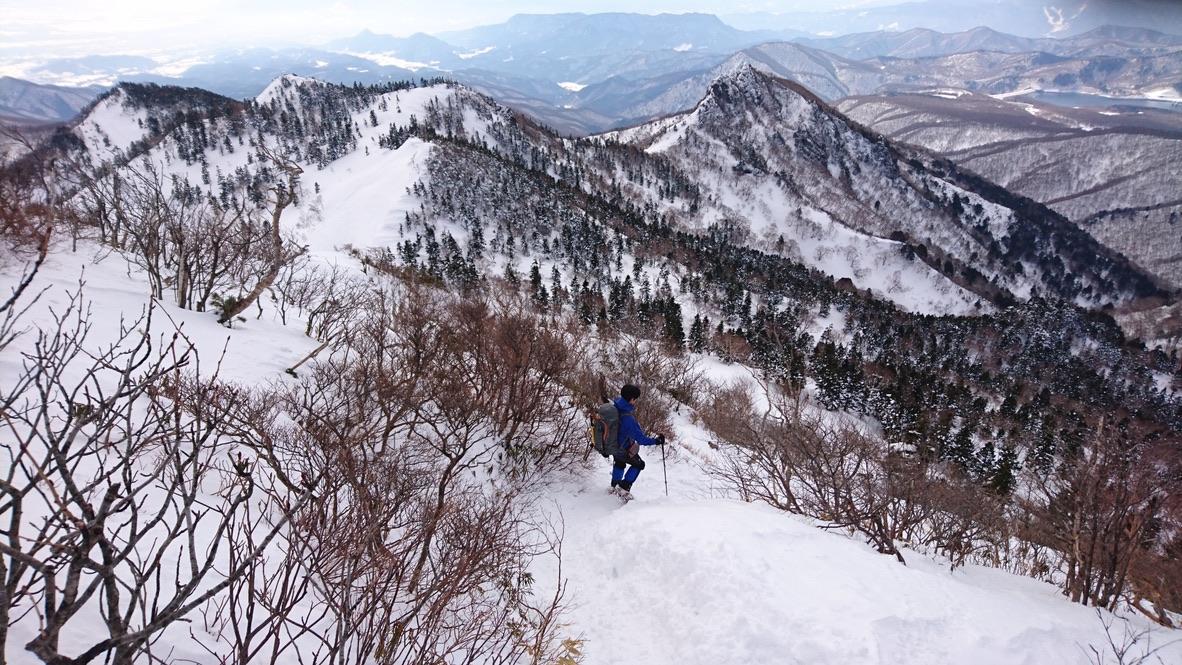 武尊山・川場スキー場に戻ります3