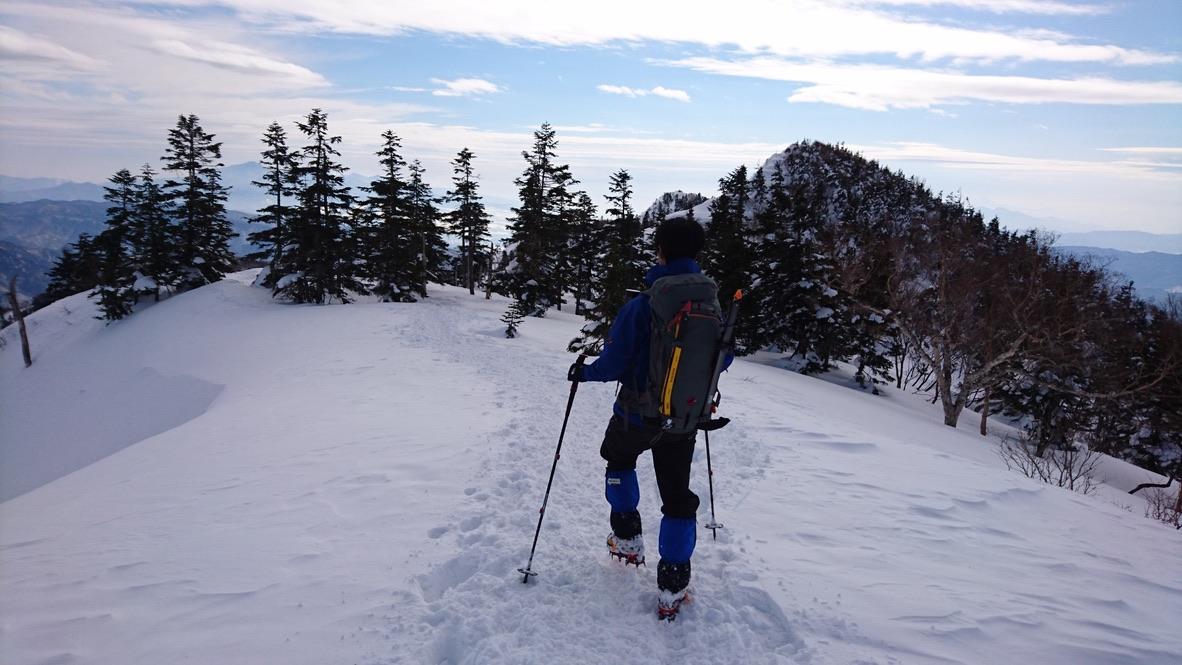 武尊山・川場スキー場に戻ります4