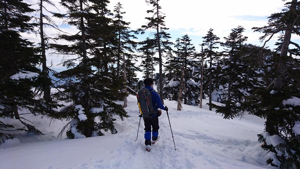 武尊山・川場スキー場に戻ります5
