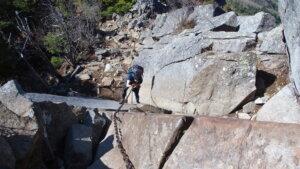 乾徳山の鳳岩
