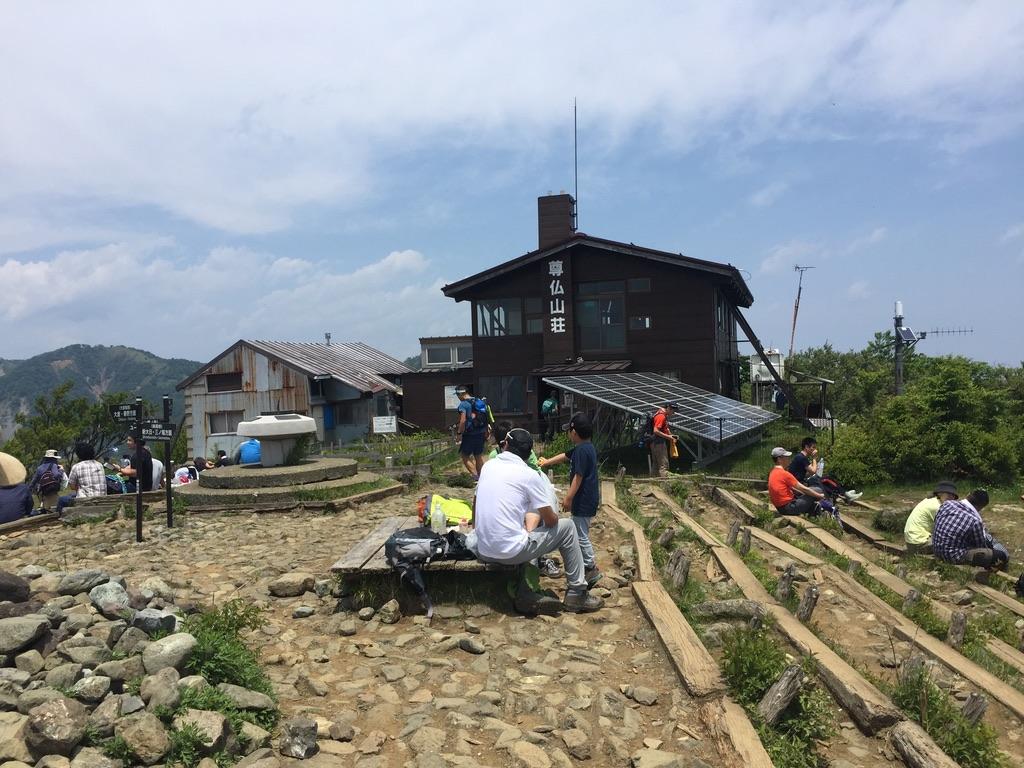 塔ノ岳・尊仏山荘