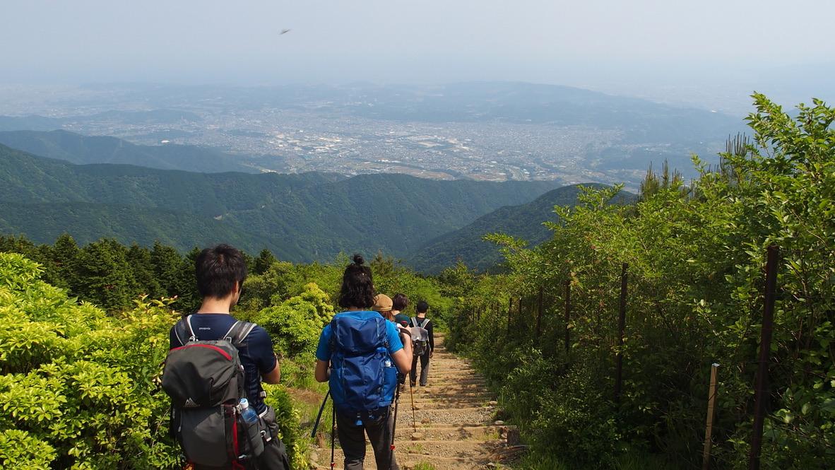 塔ノ岳・大倉尾根(バカ尾根)・下ります4