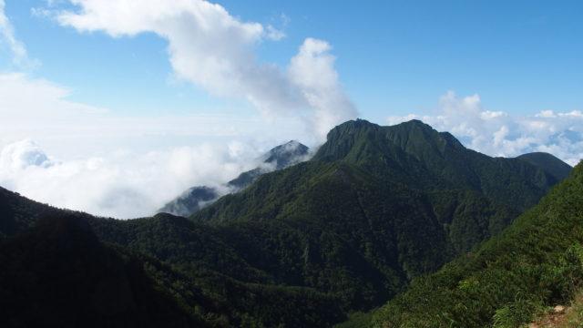 八ヶ岳(阿弥陀岳・中岳・赤岳・横岳・硫黄岳)