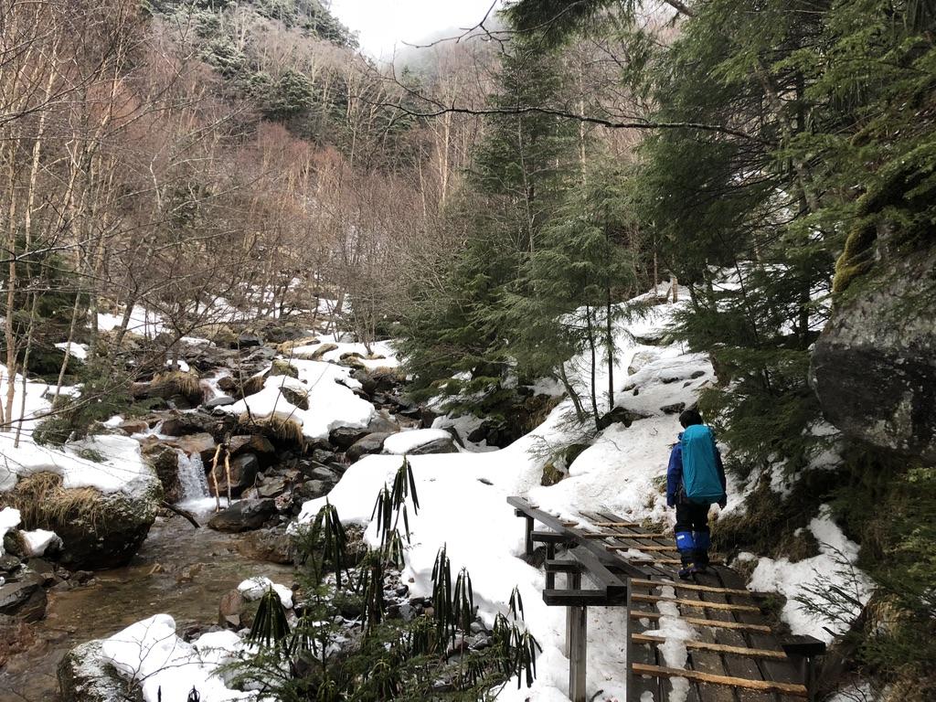 八ヶ岳・北沢・橋を歩きます
