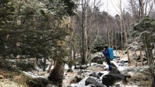 赤岳鉱泉へと至る道・北沢