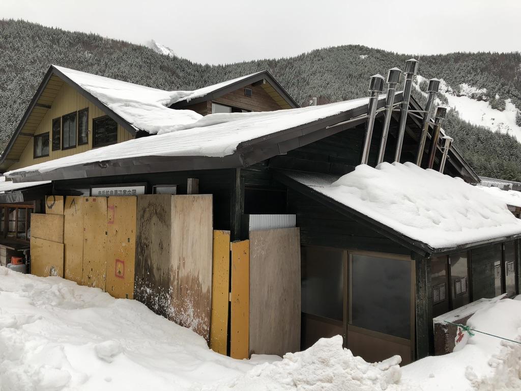 赤岳鉱泉・入り口どこ?