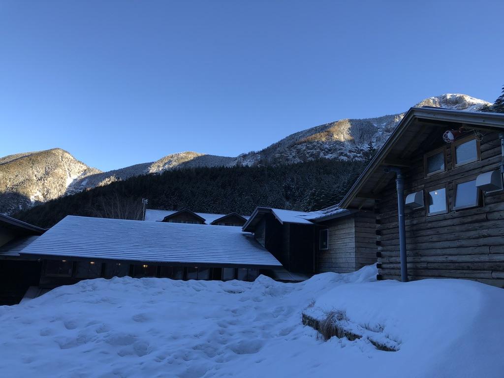 赤岳鉱泉からの硫黄岳