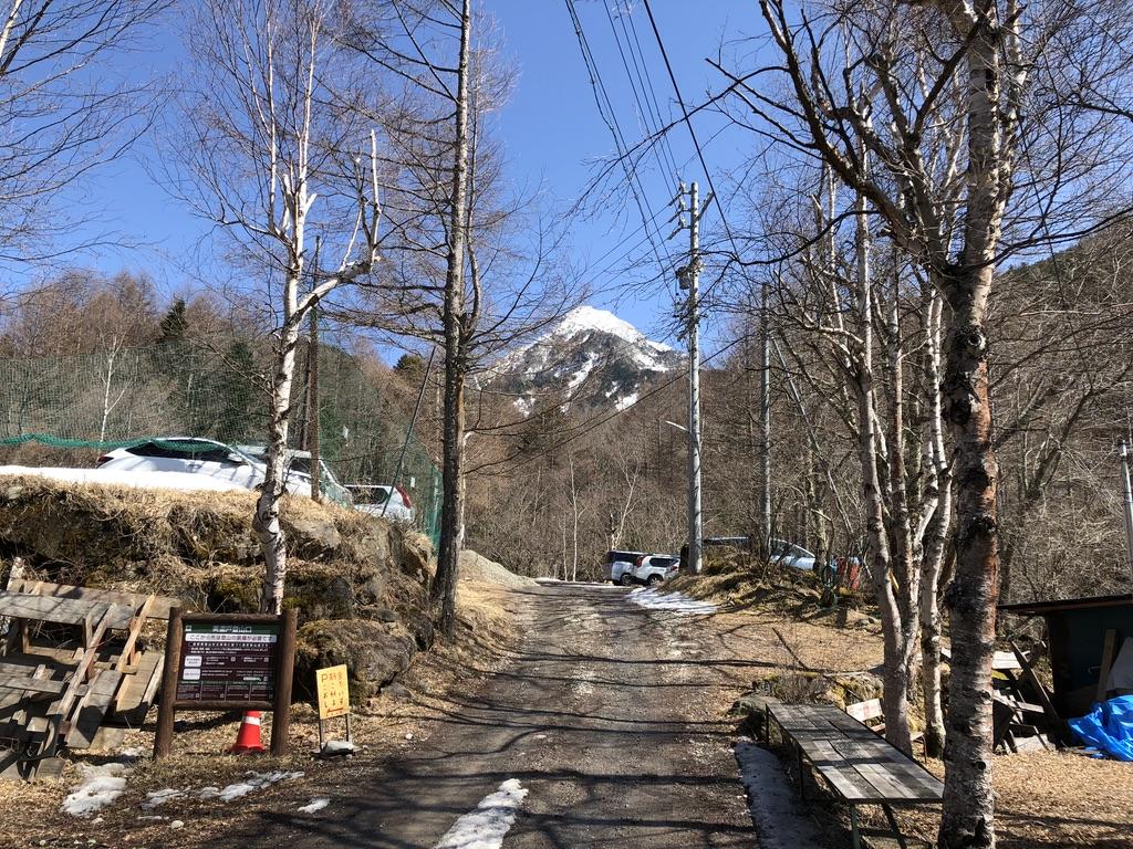 美濃戸登山口からの阿弥陀岳