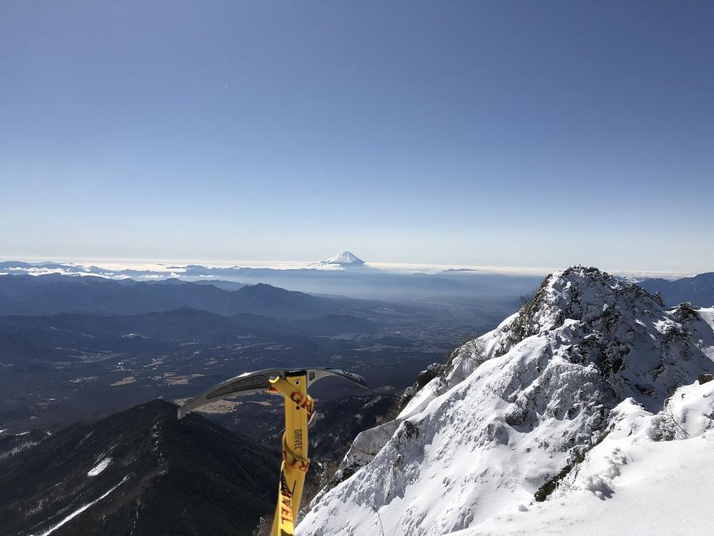 赤岳頂上アタック・富士山