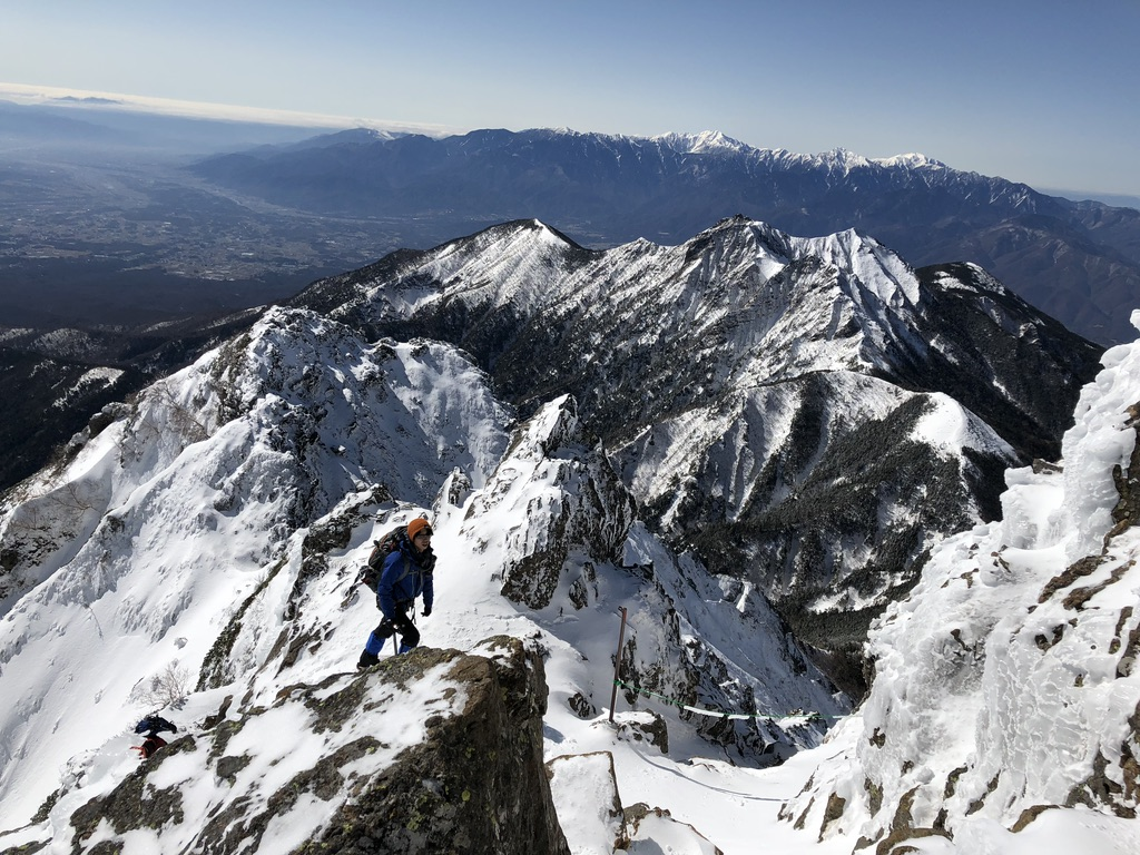 赤岳頂上アタック・絶景