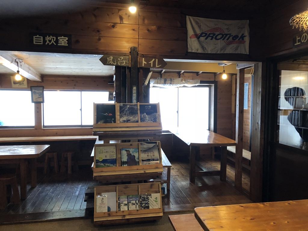 赤岳鉱泉・自炊室