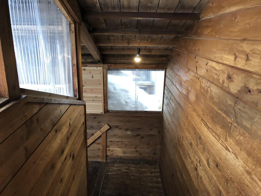 赤岳鉱泉・下の棟に向かいます・階段