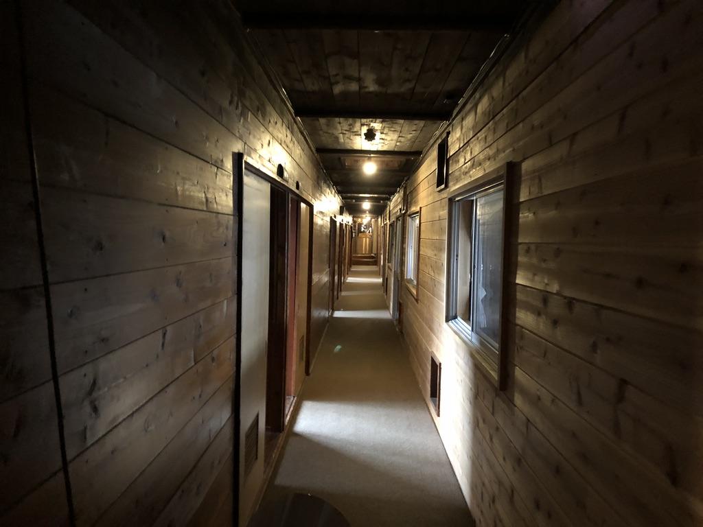 赤岳鉱泉・上の棟・10号、8号と11コの部屋