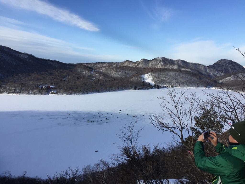 黒檜山から赤城大沼、鈴ヶ岳