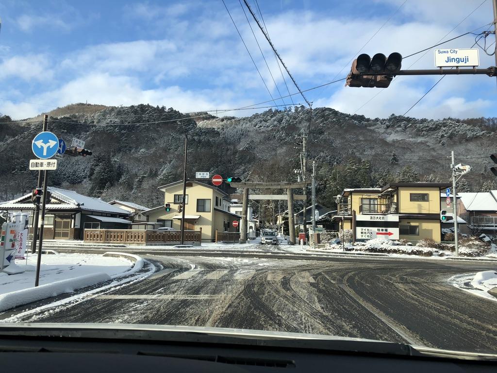 木曽駒ケ岳・下道で駒ヶ根に向かう